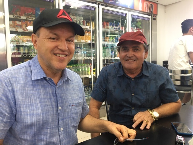 Junior Mochi e Edvaldo Bezerra